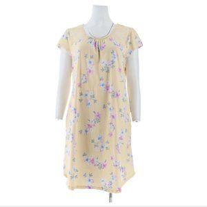 NWT Carole Hochman Dream Floral Jersey Sleepshirt